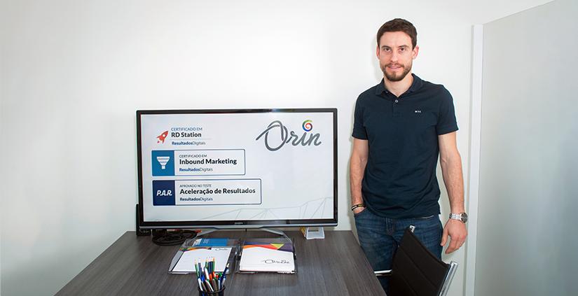 Orin agência certificada em Inbound Marketing
