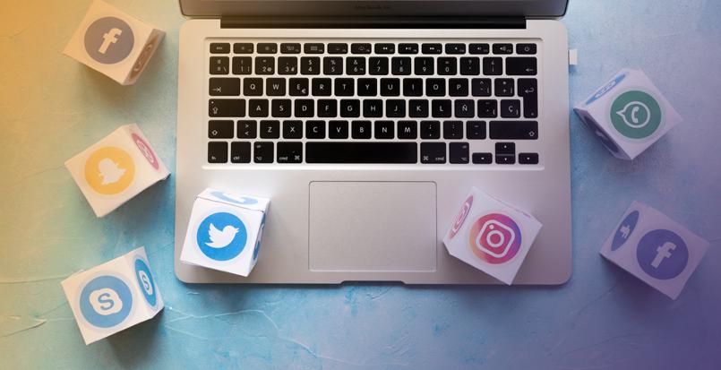 melhor rede social